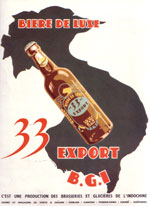 Biere 33 Export Saigon